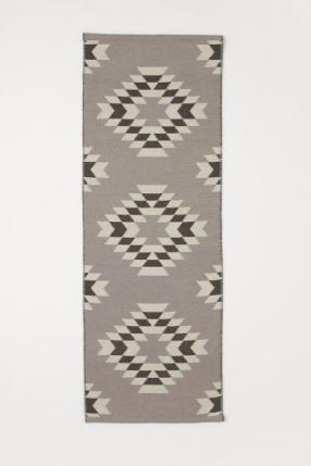 Отзыв на Шерстяной ковер с жаккардовым узором из Интернет-Магазина H&M