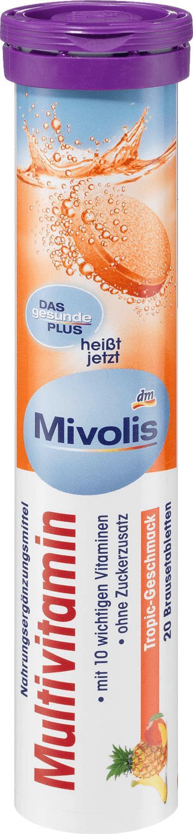 Отзыв на Мультивитамин растворимые таблетки 20 Ул., 82 г из Интернет-Магазина DM