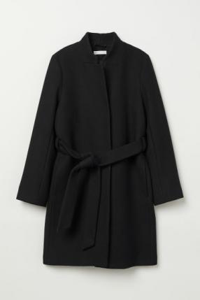 Пальто с полушерстяной
