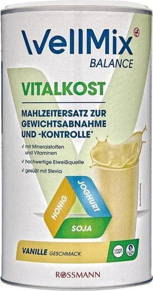Отзыв на WellMix BALANCE Vitalkost Vanille Geschmack из Интернет-Магазина ROSSMANN