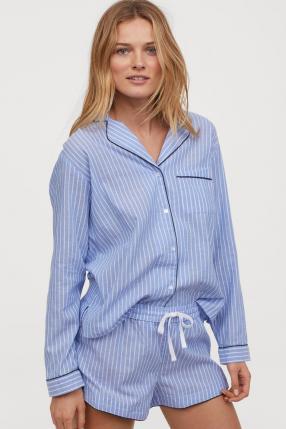 Отзыв на Schlafoberteil und Shorts НМ из Интернет-Магазина H&M