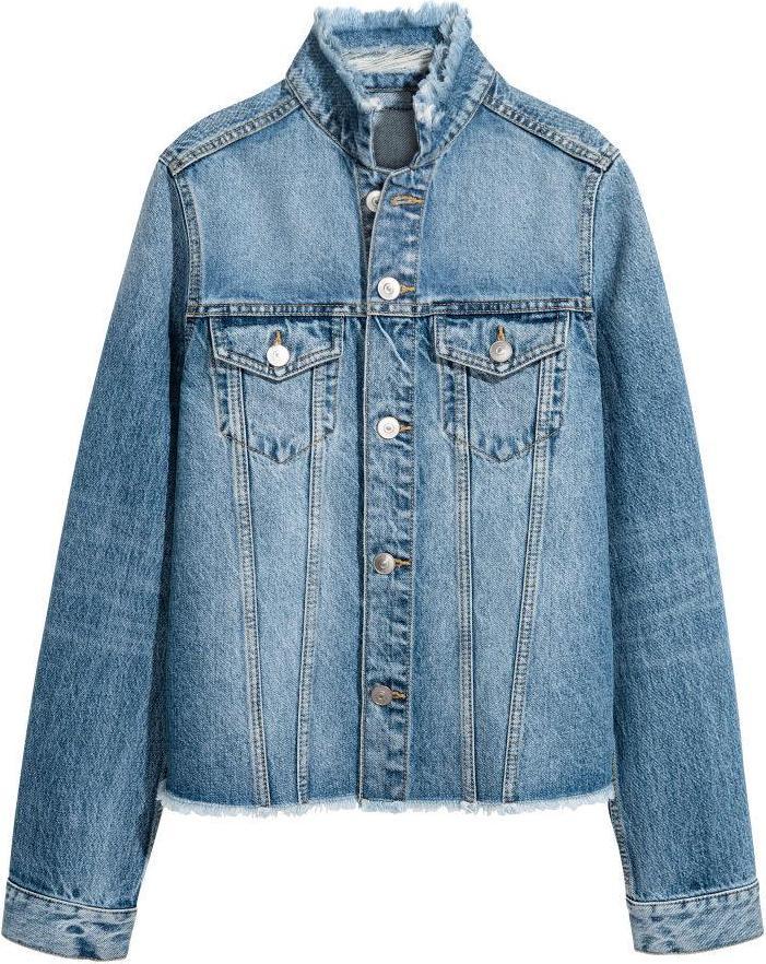 Отзыв на Джинсовая куртка из Интернет-Магазина H&M
