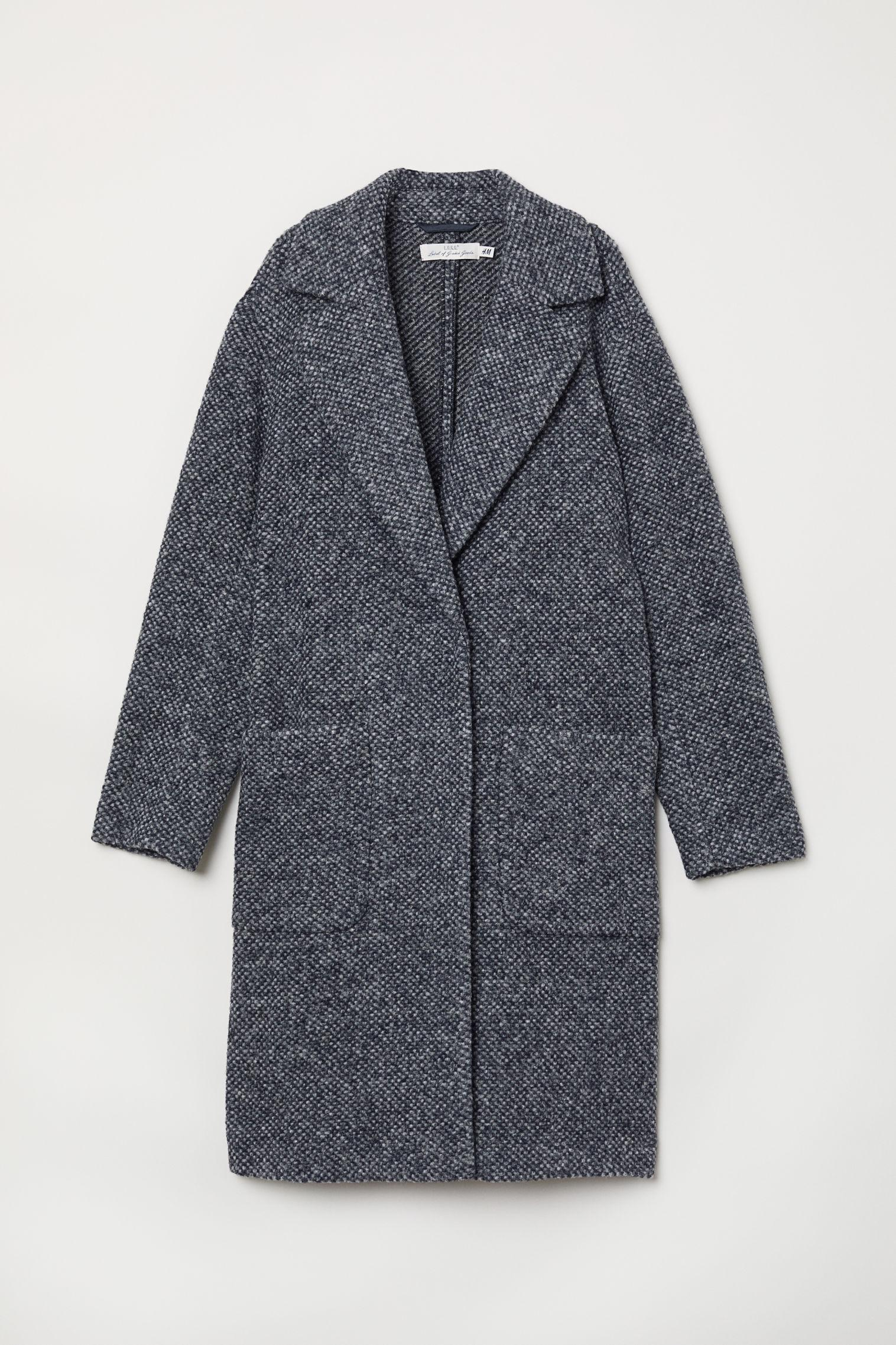 Отзыв на Вязание пальто шерстяные из Интернет-Магазина H&M