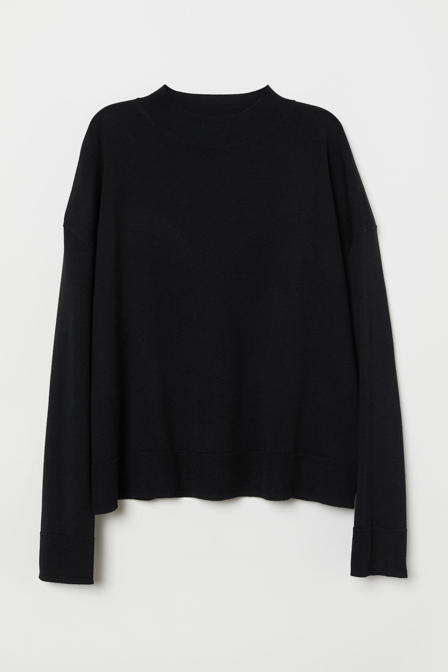Отзыв на Свитер с шерсти мериноса из Интернет-Магазина H&M