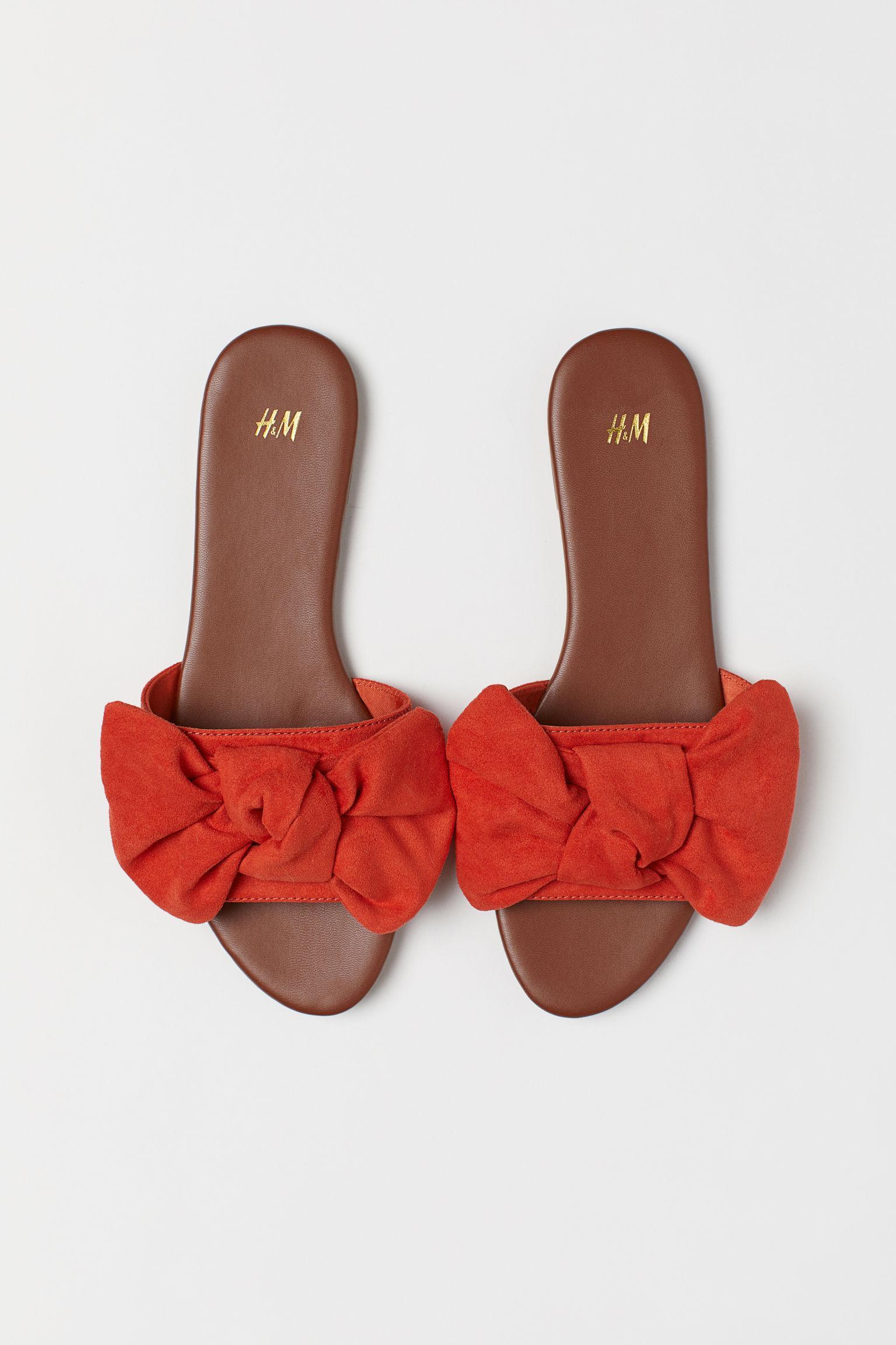 Отзыв на Pantoletten с петлей из Интернет-Магазина H&M