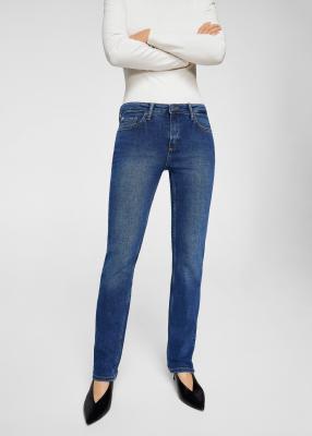 Отзыв на Ровные джинсы Анна из Интернет-Магазина MANGO Outlet