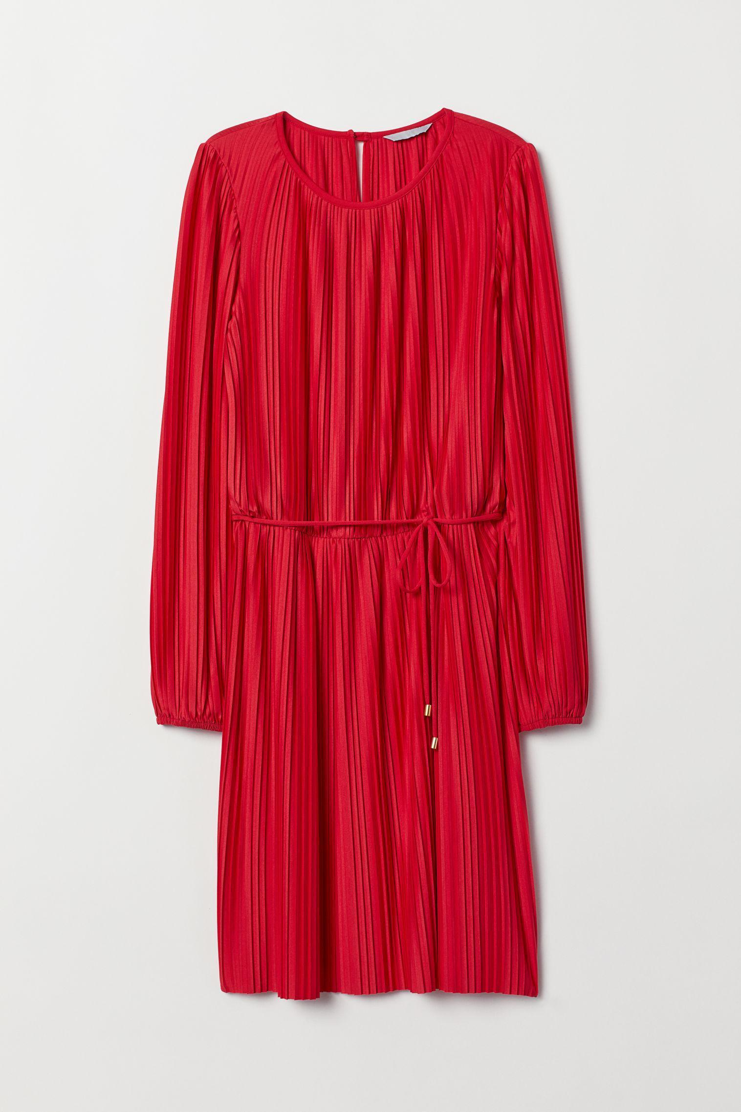 Отзыв на Плиссированный топ Платье из Интернет-Магазина H&M