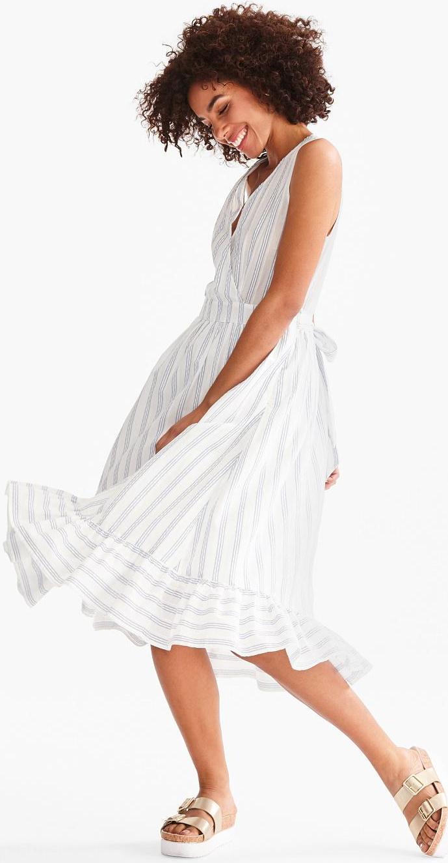 Отзыв на Платье на запах - полосатый из Интернет-Магазина C&A