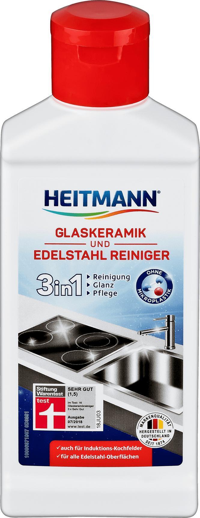 Отзыв на Glaskeramik/Edelstahlreiniger, 250 ml из Интернет-Магазина DM