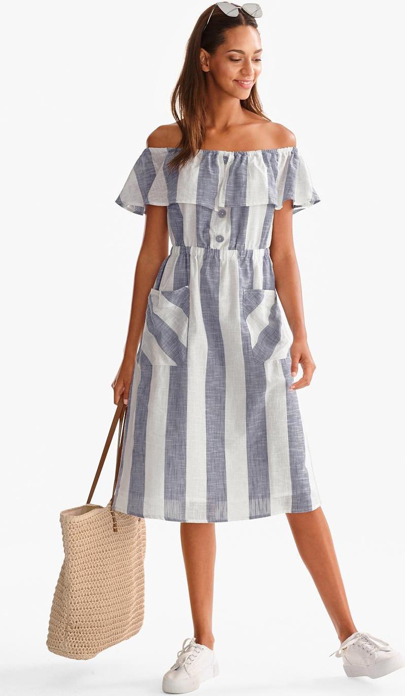 Отзыв на Fit & Вспышки Платье - полосатый из Интернет-Магазина C&A