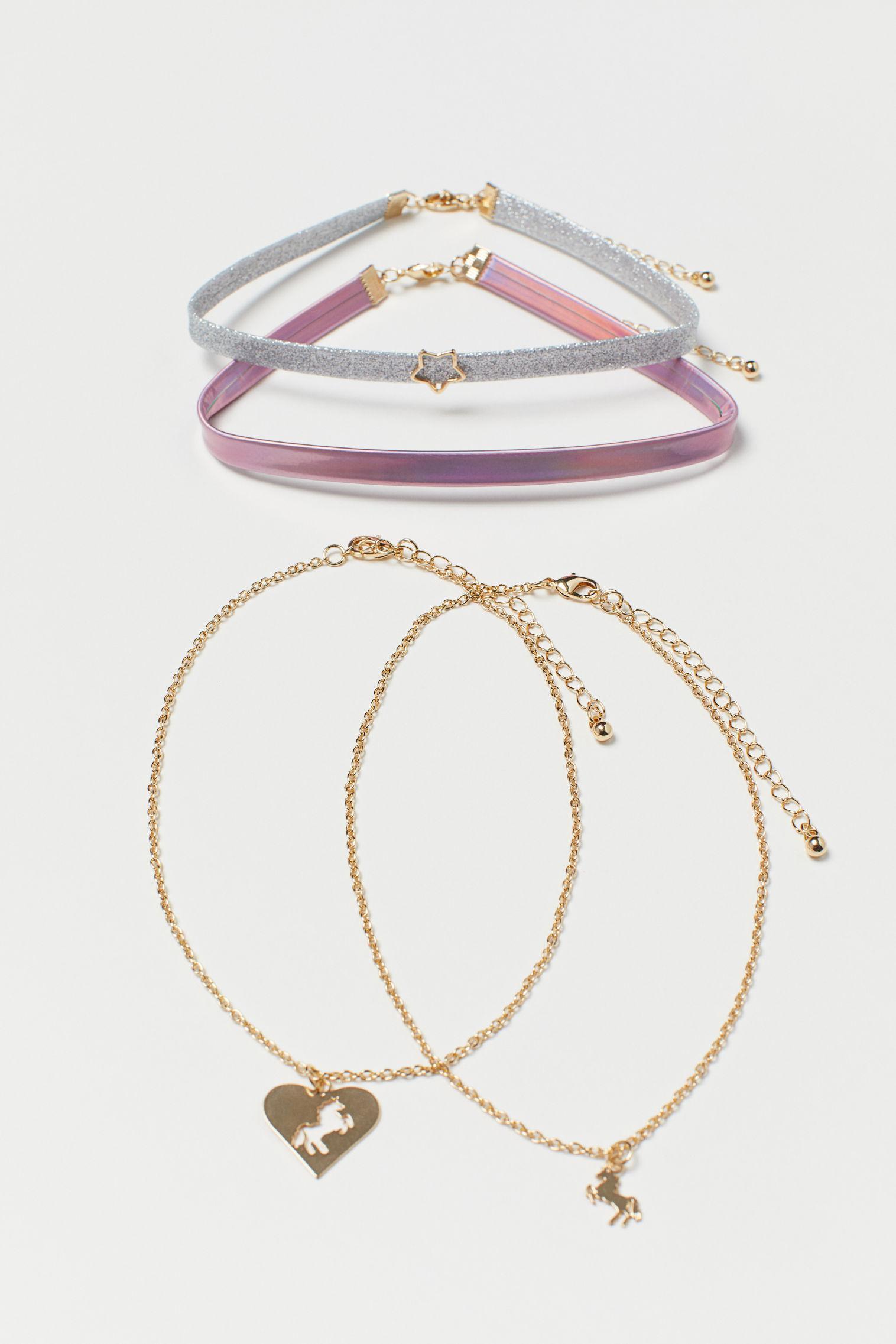 Отзыв на 4er-Pack Halsketten из Интернет-Магазина H&M