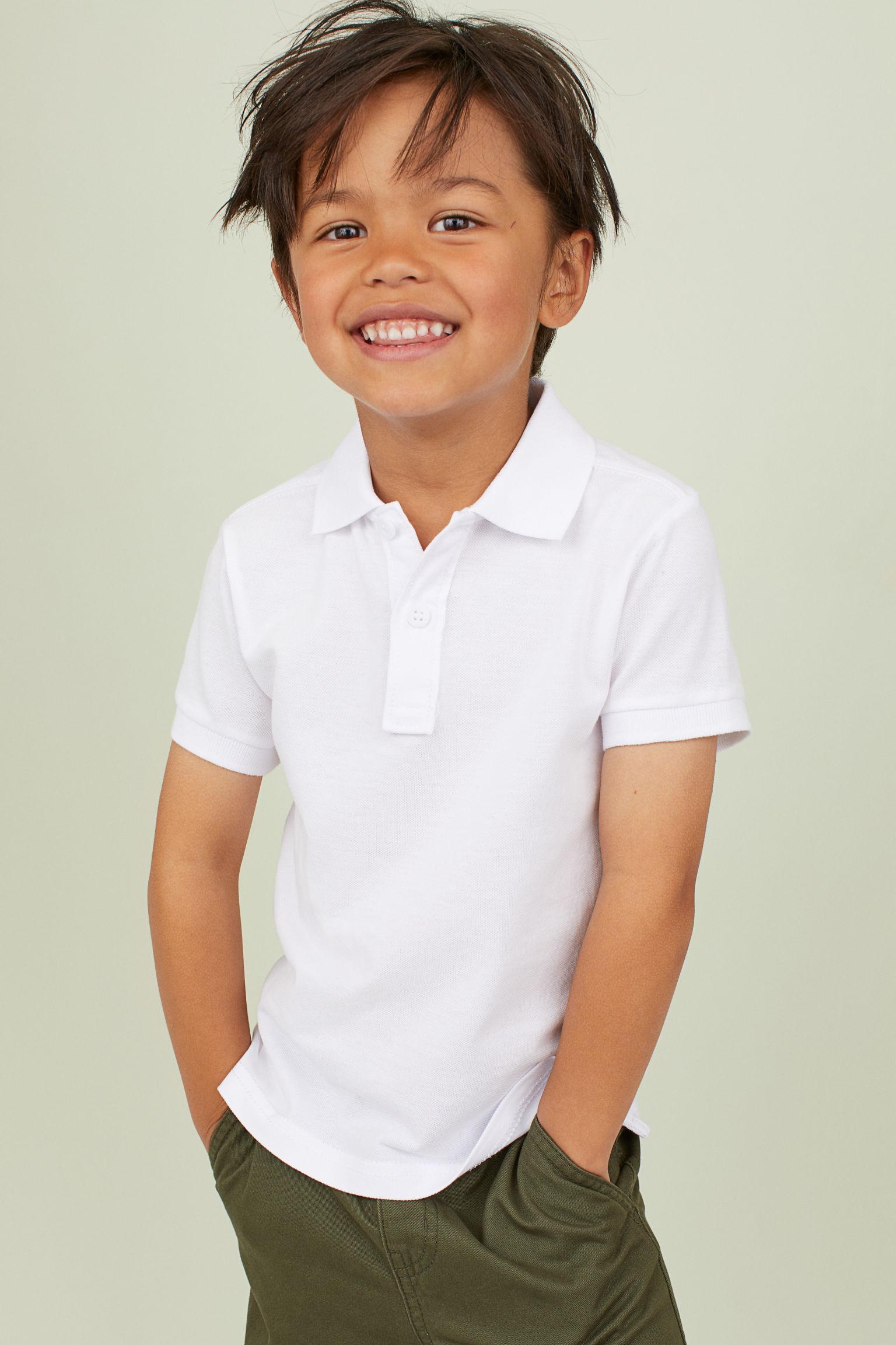 Отзыв на 2-пары Хлопок Рубашки Поло из Интернет-Магазина H&M