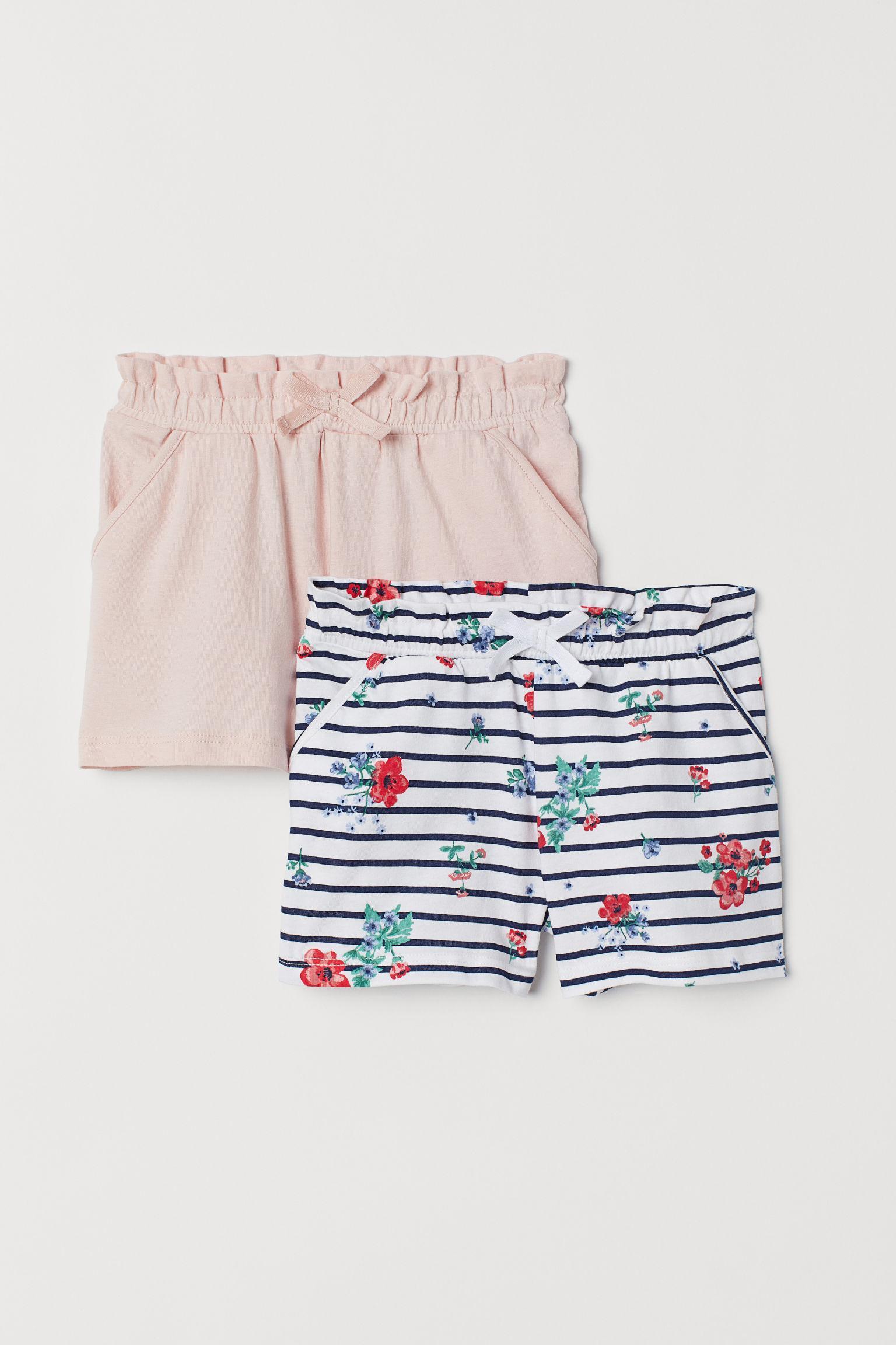 Отзыв на 2-пары шорты трикотажные из Интернет-Магазина H&M