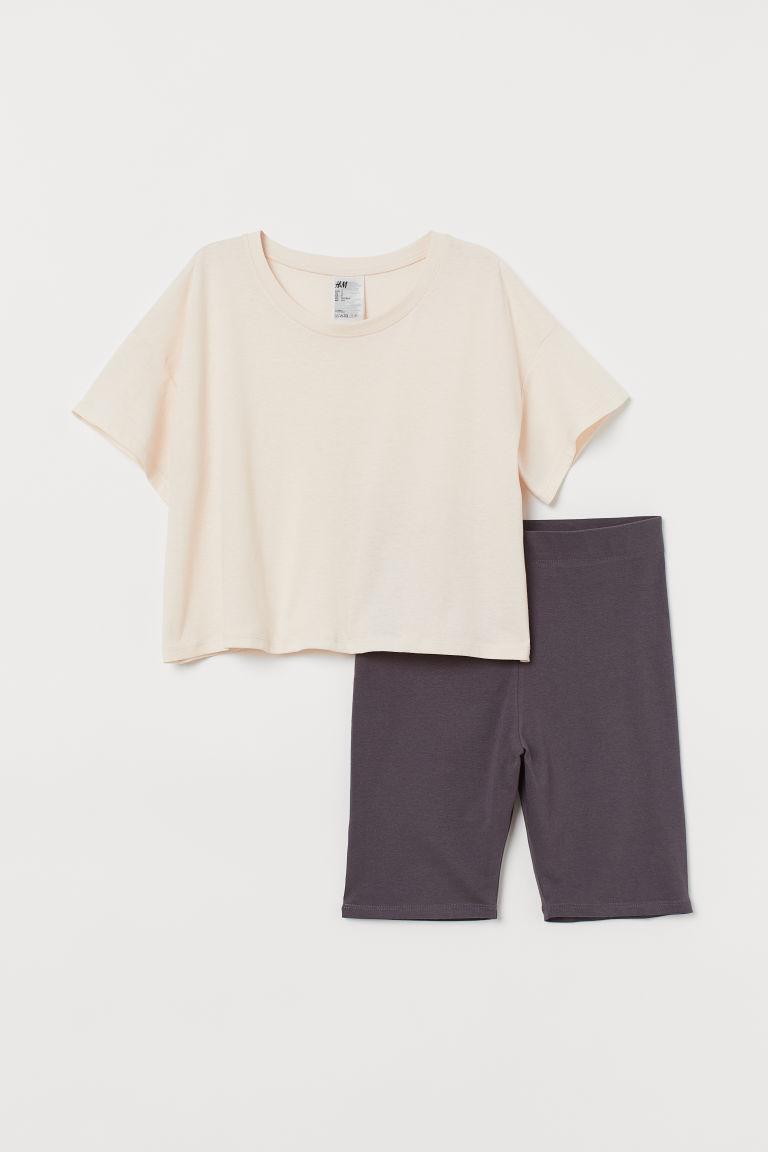 Отзыв на Ночная рубашка и шорты из Интернет-Магазина H&M