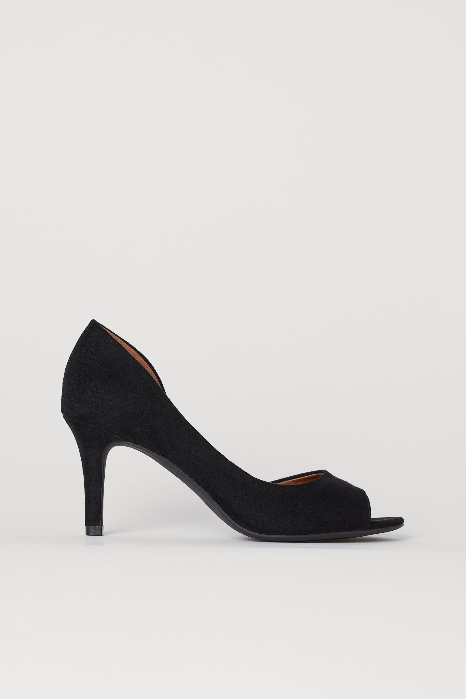 Отзыв на Туфли с открытая Пальцы матче из Интернет-Магазина H&M