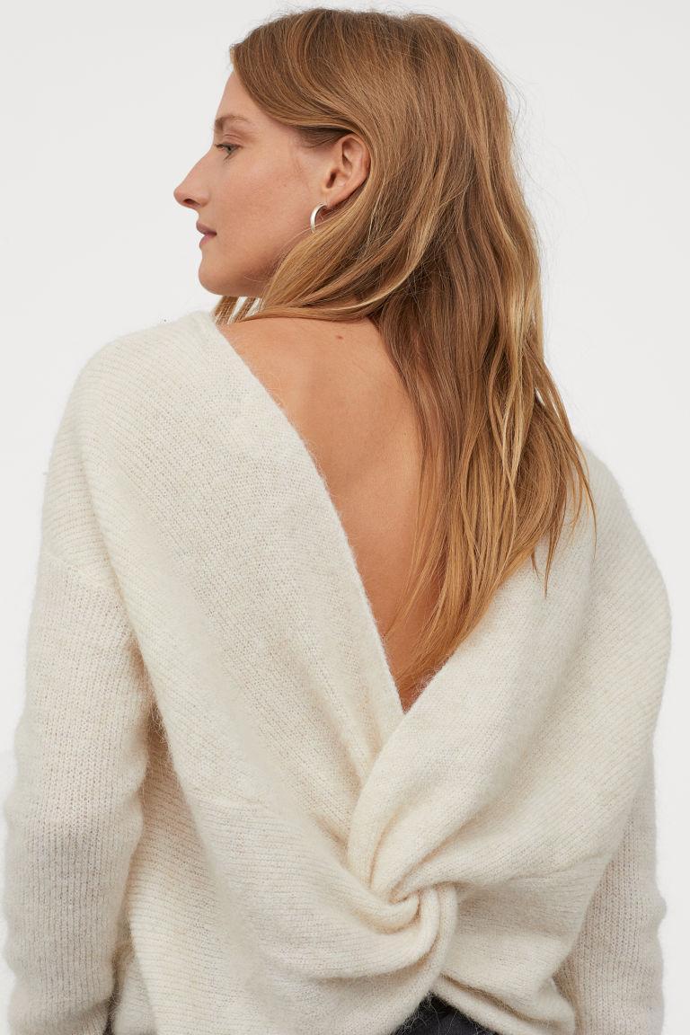 Отзыв на Пуловер с Альпака-Смесь из Интернет-Магазина H&M