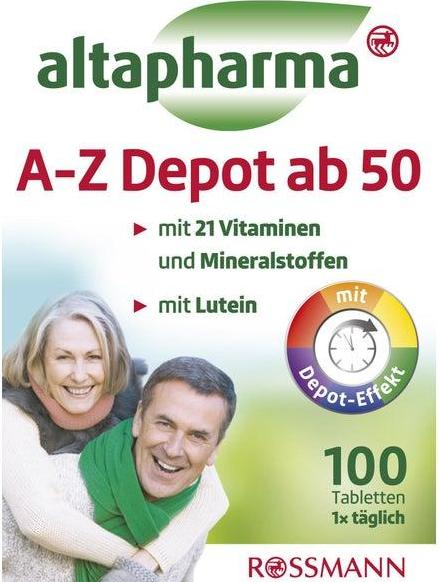Отзыв на altapharma A-Z Depot ab 50 из Интернет-Магазина ROSSMANN