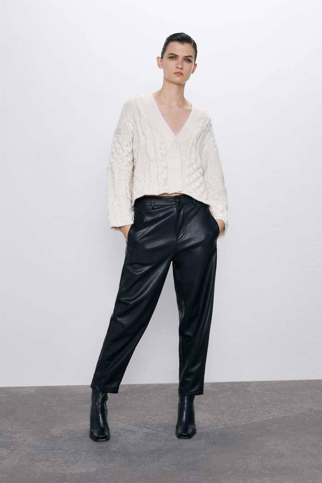 Отзыв на KUNSTLEDERHOSE из Интернет-Магазина Zara