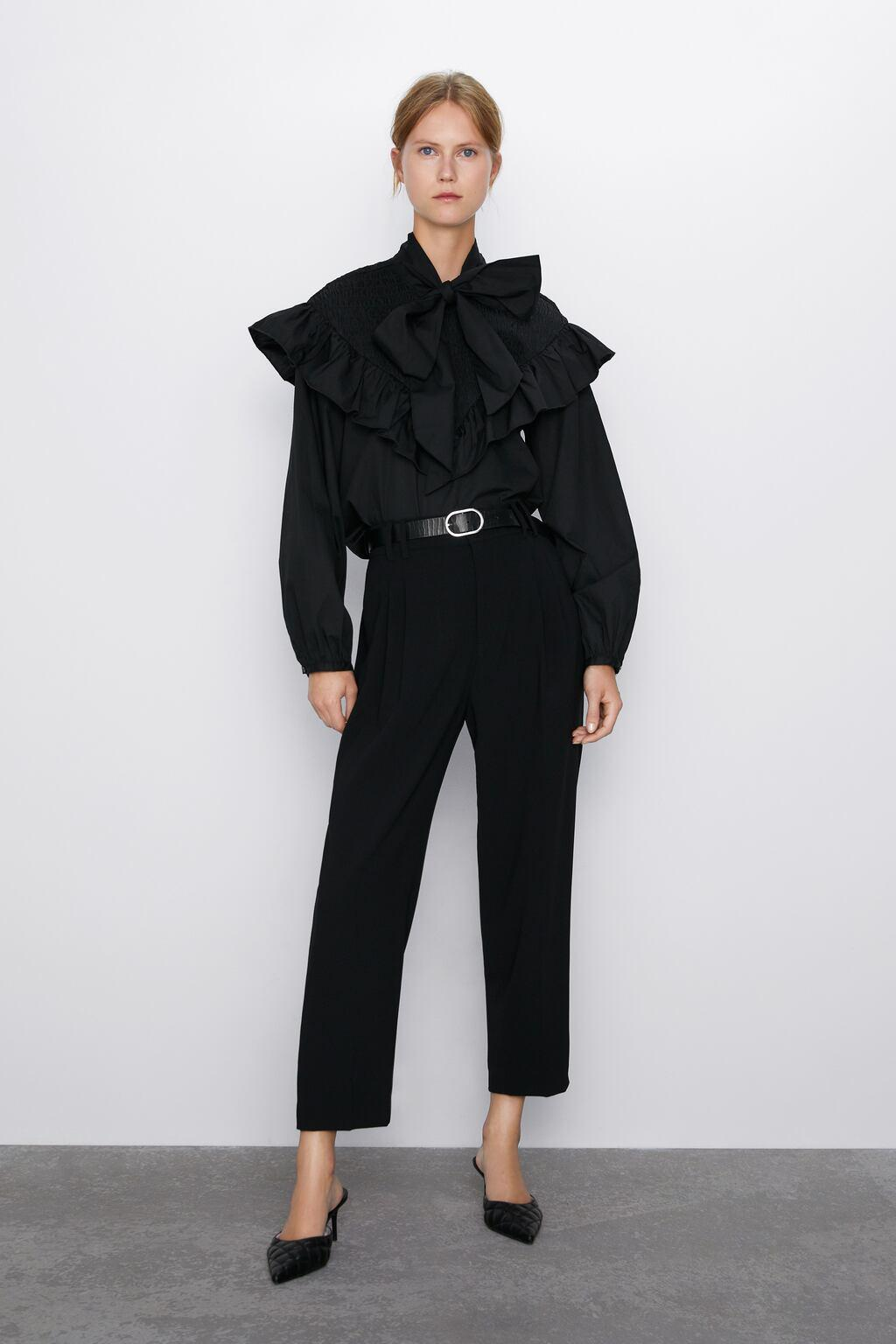 Отзыв на BUNDFALTENHOSE из Интернет-Магазина Zara