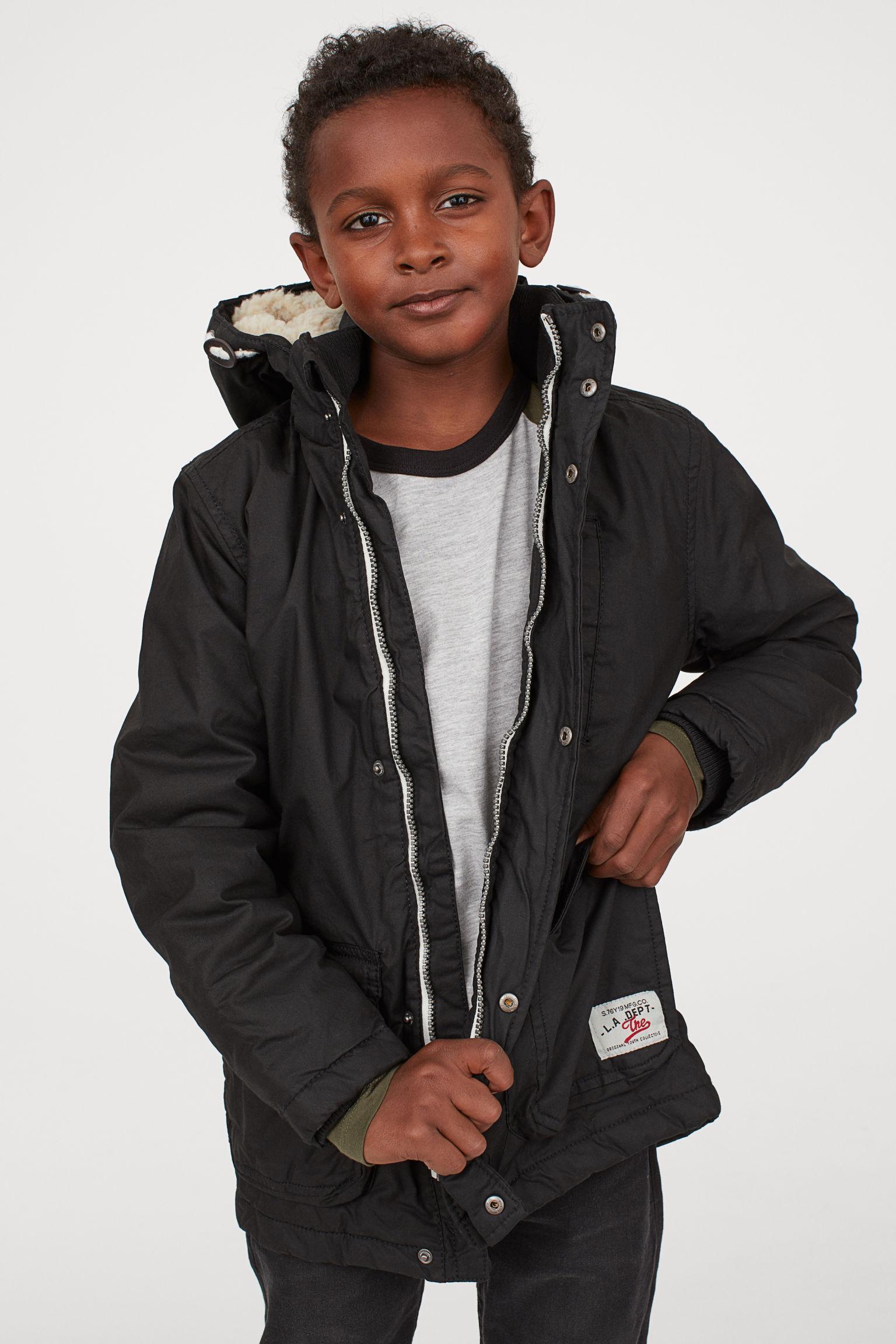 Отзыв на Стеганная парка с капюшоном из Интернет-Магазина H&M