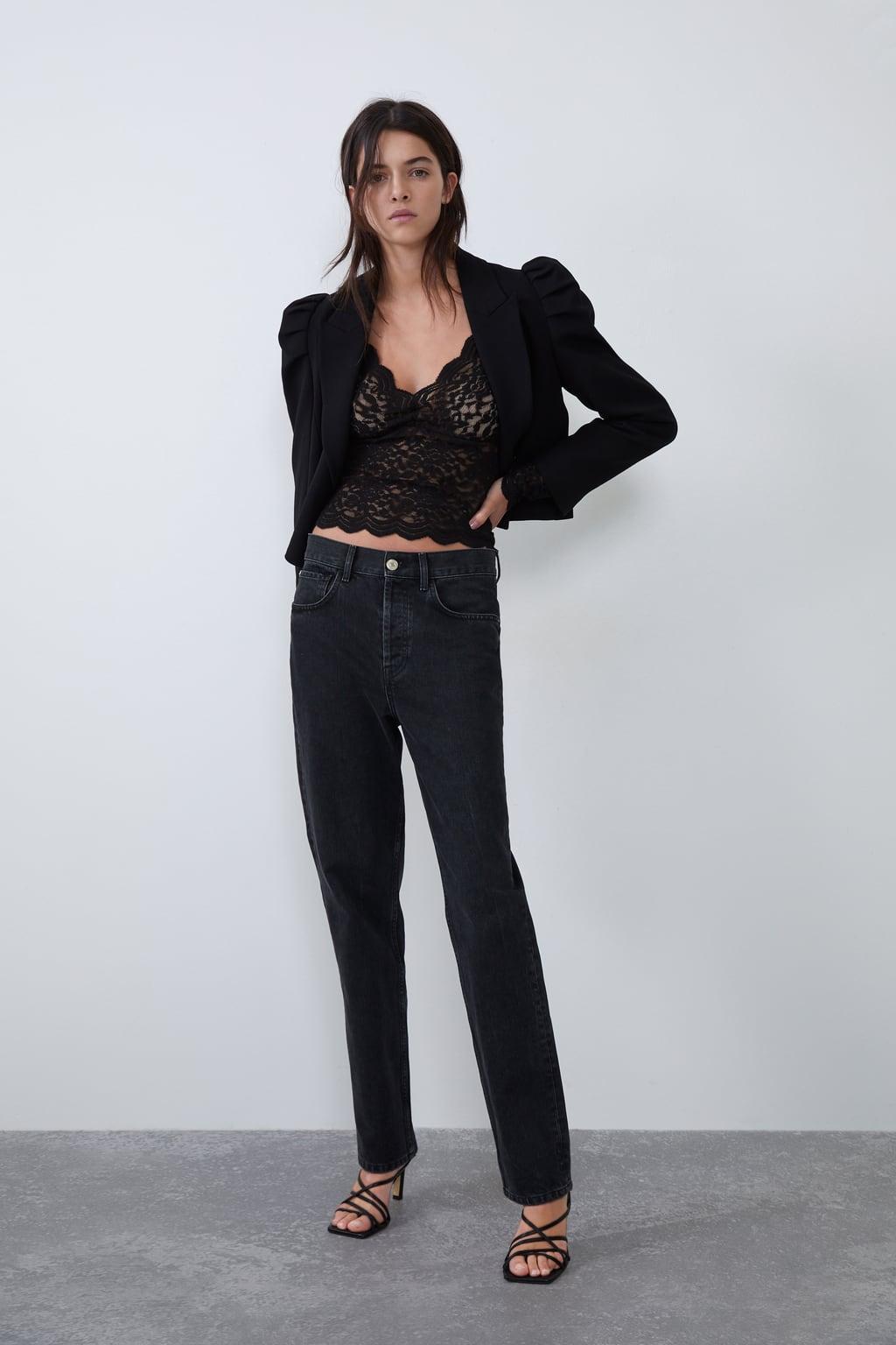 Отзыв на Рубашка с кружевом из Интернет-Магазина Zara