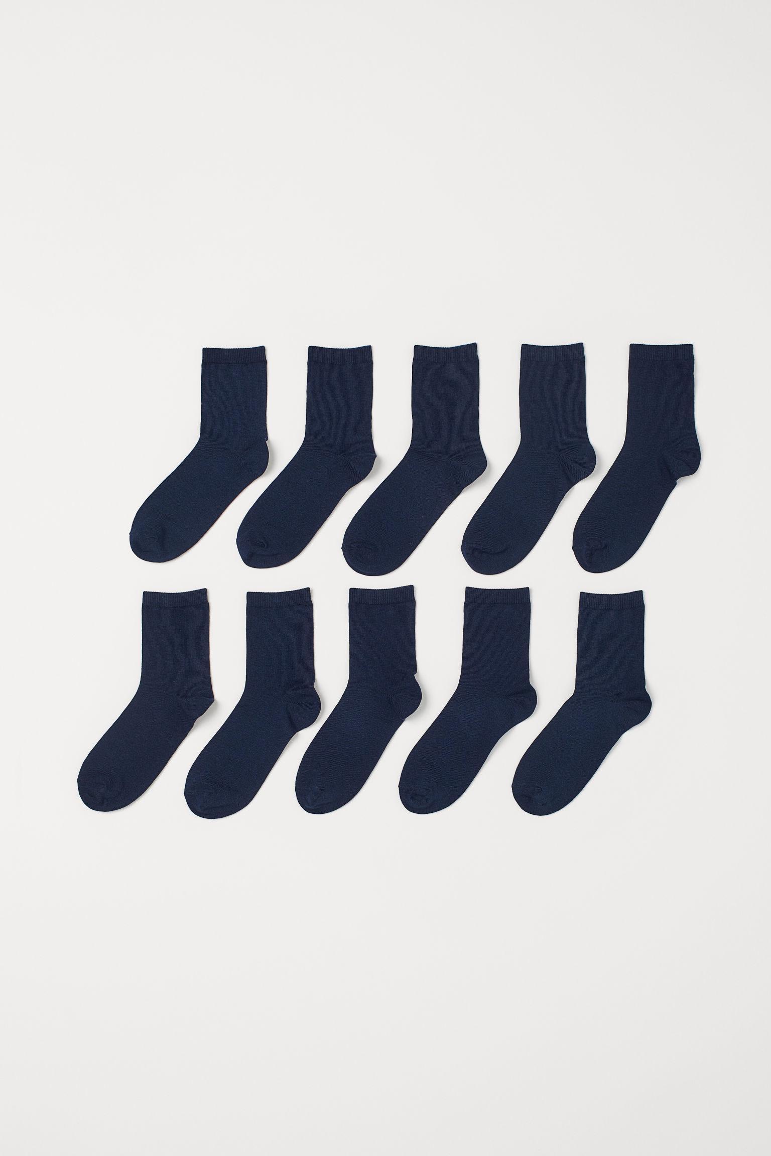 Отзыв на 10 пар Носки из Интернет-Магазина H&M