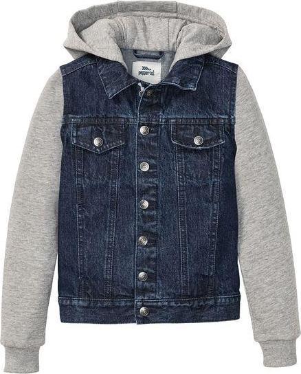 Отзыв на PEPPERTS® джинсовая куртка Мальчики, Капюшон и Рукава с Sweatstoff, высокий Доля хлопка из Интернет-Магазина LIDL