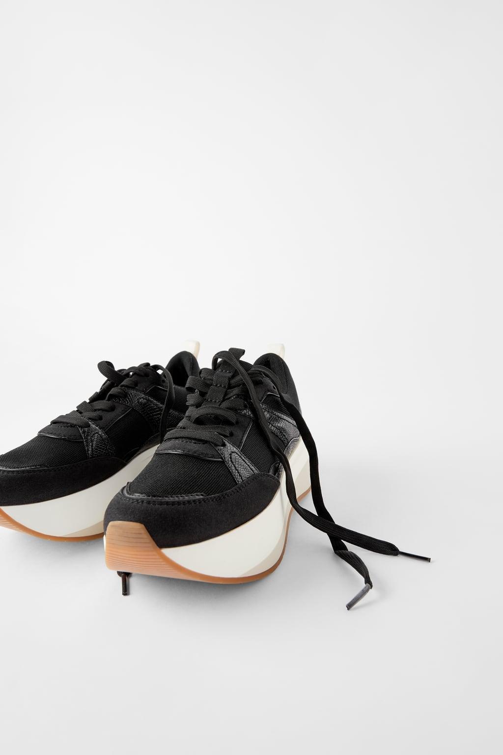 Отзыв на Сникерсы с Плато подошва из Интернет-Магазина Zara