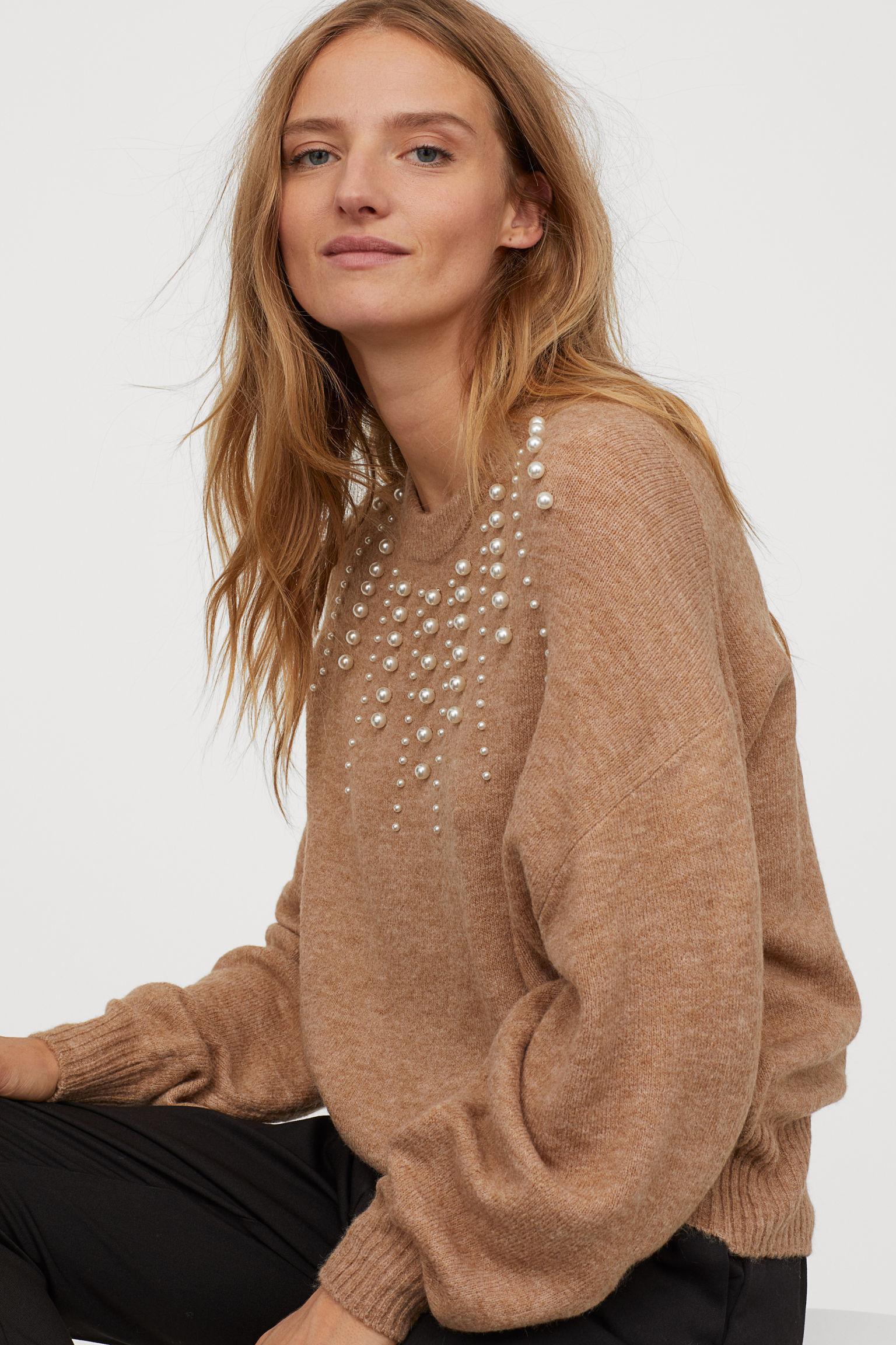 Отзыв на Свитер вязаный с Бусины из Интернет-Магазина H&M
