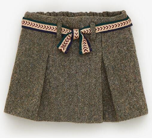 Отзыв на Шорты бермуды с CHEVIOTWOLLE с поясом из Интернет-Магазина Zara