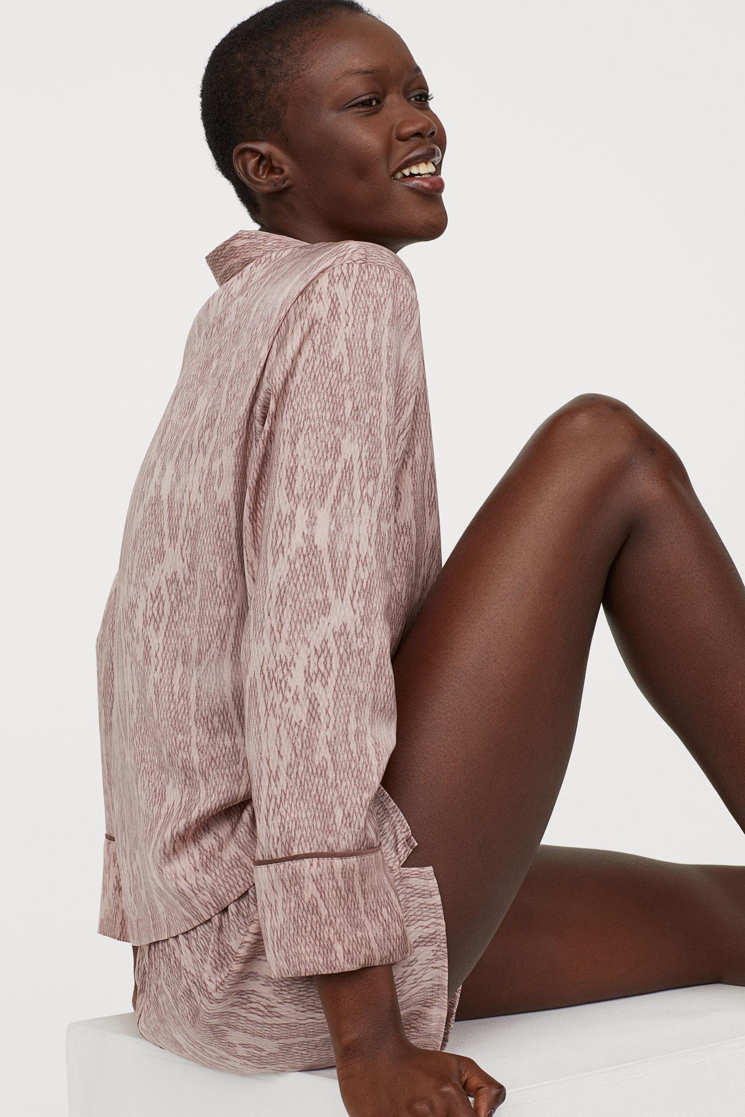 Отзыв на Satinpyjama из Интернет-Магазина H&M