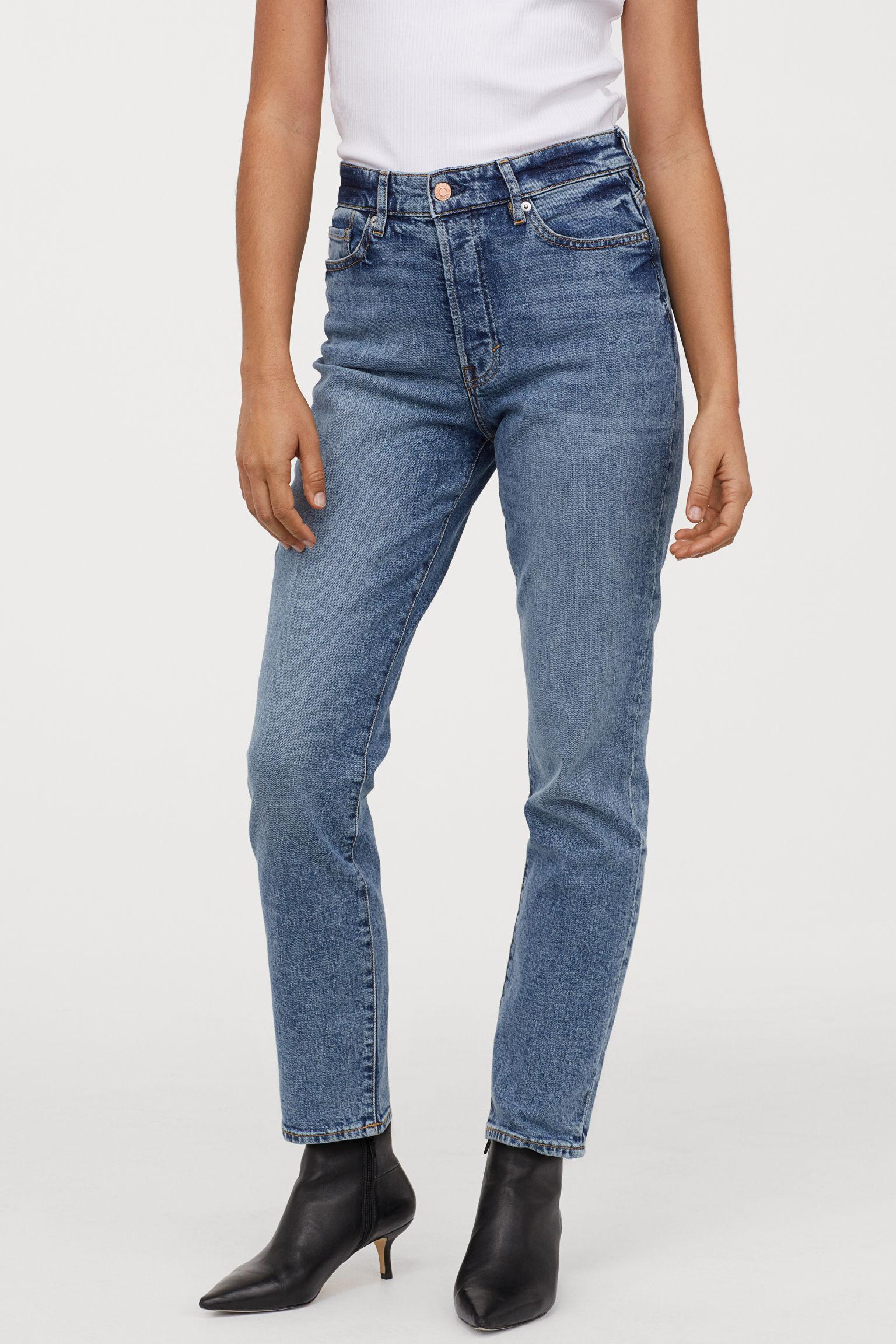Отзыв на Мама высокий джинсы длиной по щиколотку из Интернет-Магазина H&M