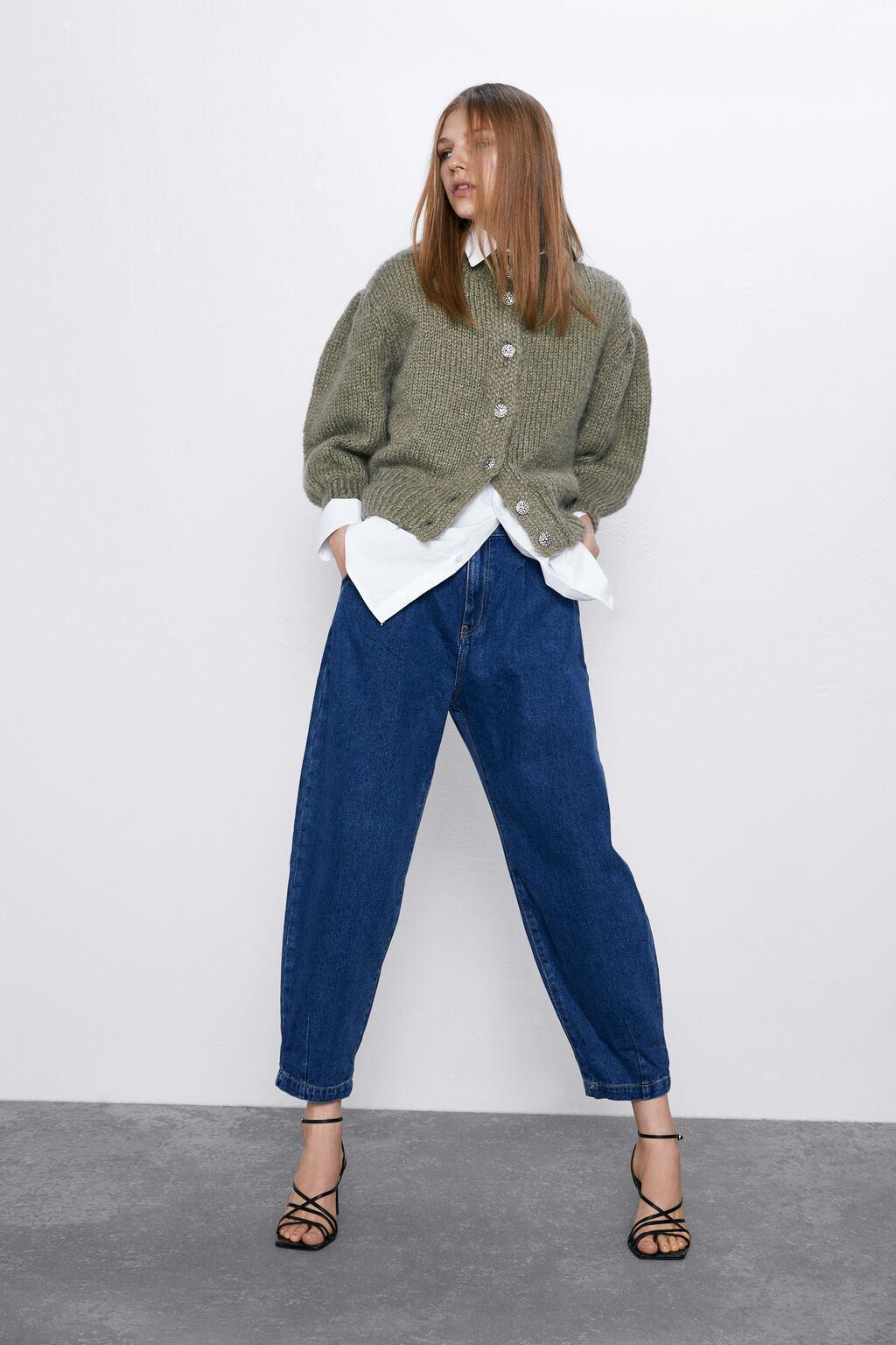 Отзыв на Z1975 Аутентичные Напуском Джинсы из Интернет-Магазина Zara