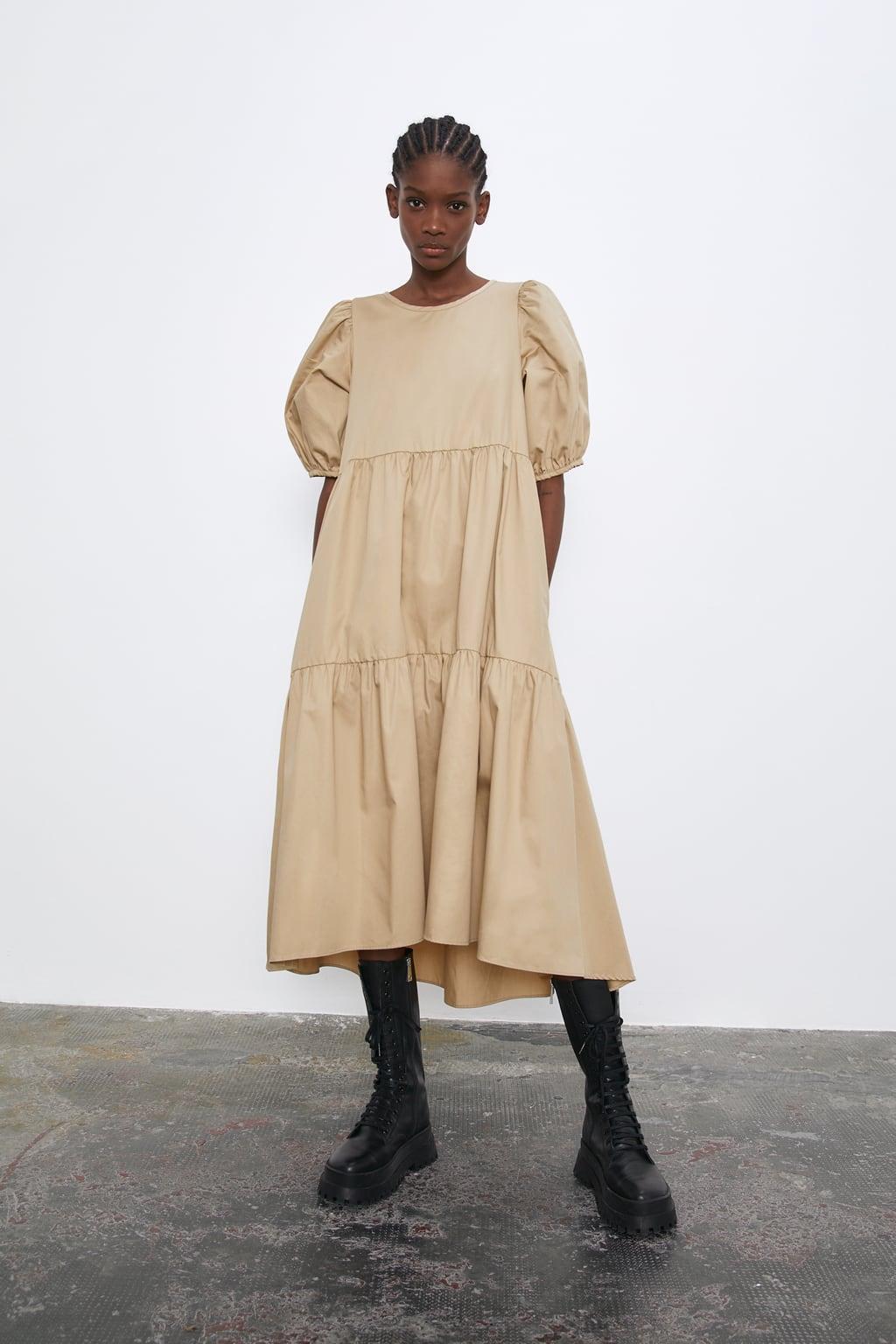 Отзыв на ASYMMETRISCHES POPELINKLEID из Интернет-Магазина Zara