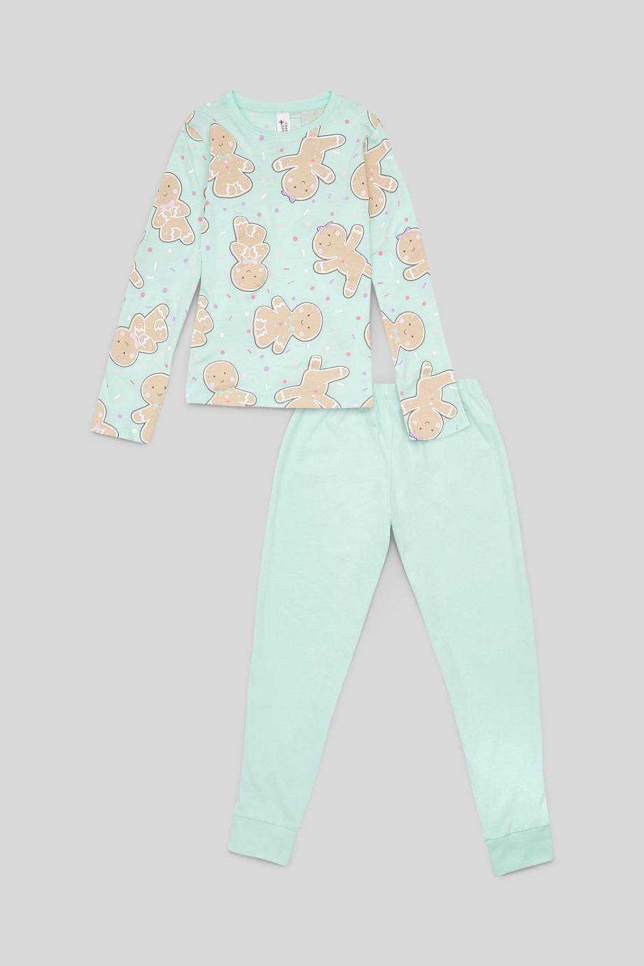 Отзыв на Weihnachts-Pyjama - Bio-Baumwolle - 2 teilig из Интернет-Магазина C&A