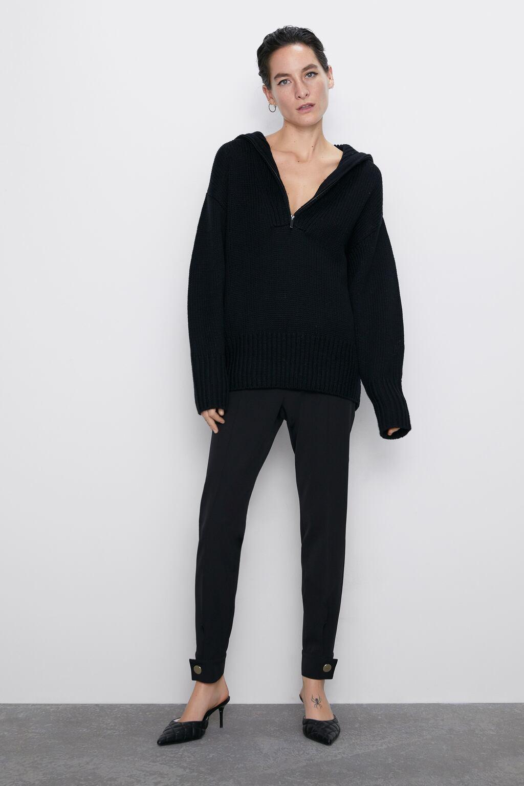Отзыв на Леггинсы С Молнии и Вентс из Интернет-Магазина Zara