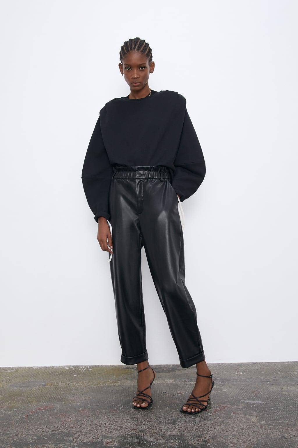 Отзыв на С НАПУСКОМ-ШЛАНГ из искусственной кожи из Интернет-Магазина Zara