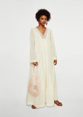Отзыв на Платье хлопковое с рисунком из Интернет-Магазина MANGO Outlet