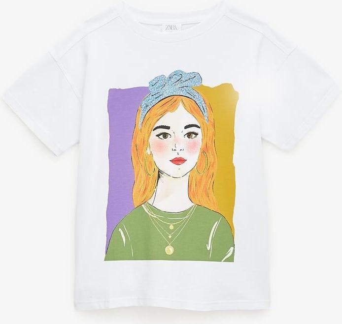 Отзыв на Рубашка с принтом из Интернет-Магазина Zara
