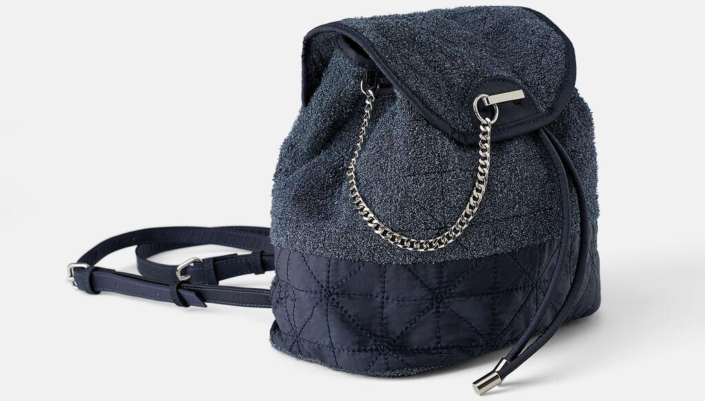 Отзыв на Рюкзак с МАХРОВЫЕ ТКАНИ из Интернет-Магазина Zara