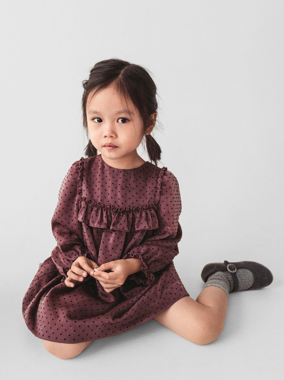 Отзыв на Платье с GEFLOCKTEN ГОРОШЕК из Интернет-Магазина Zara