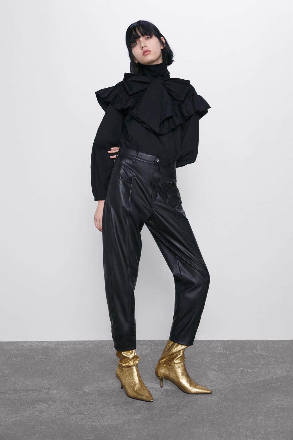 Отзыв на Штаны В СТИЛЬ В 80ER ЛЕТ из Интернет-Магазина Zara