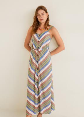 Отзыв на Полосатый Платье хлопковое из Интернет-Магазина MANGO