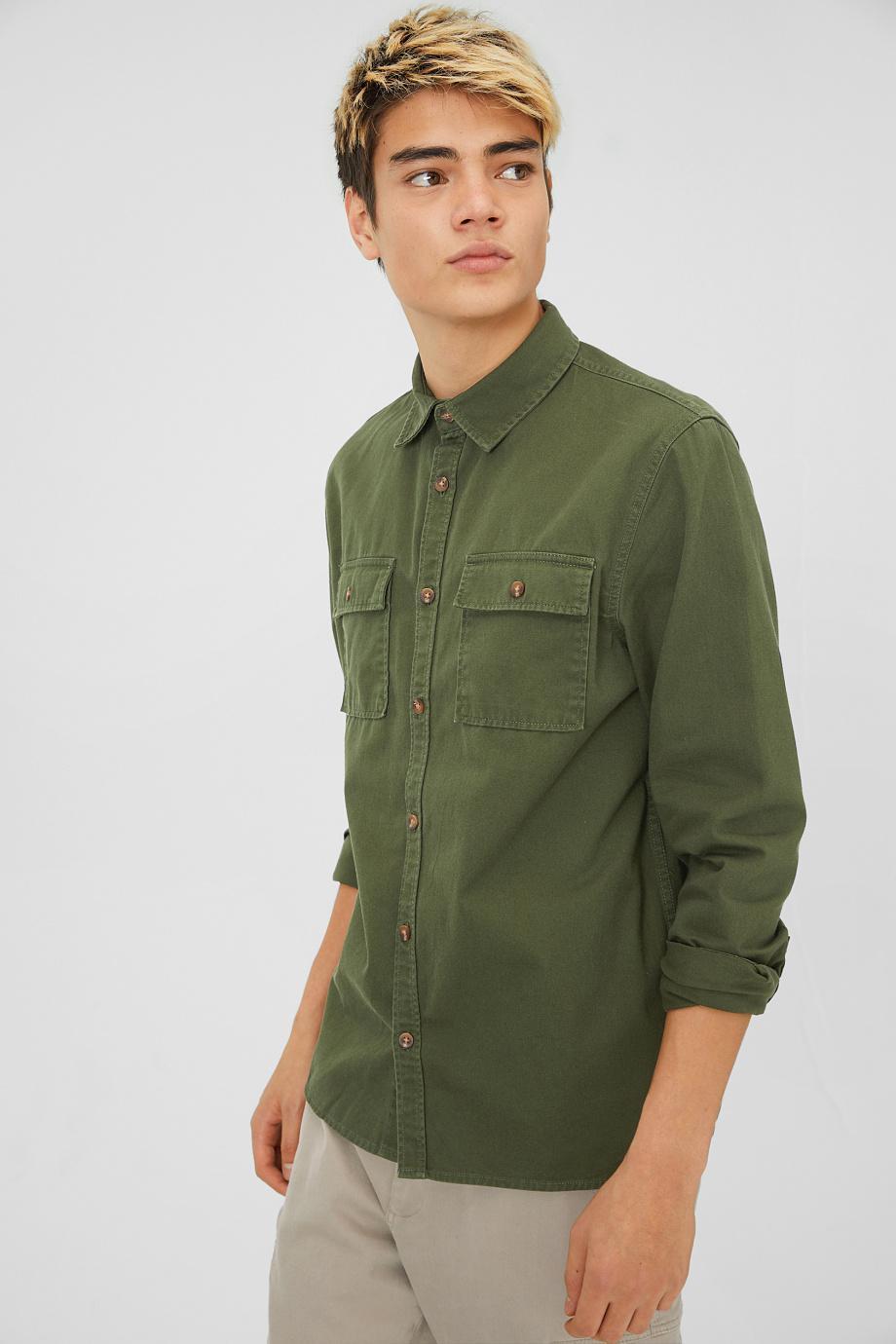 Отзыв на Рубашка - нормальные Fit Кент из Интернет-Магазина C&A