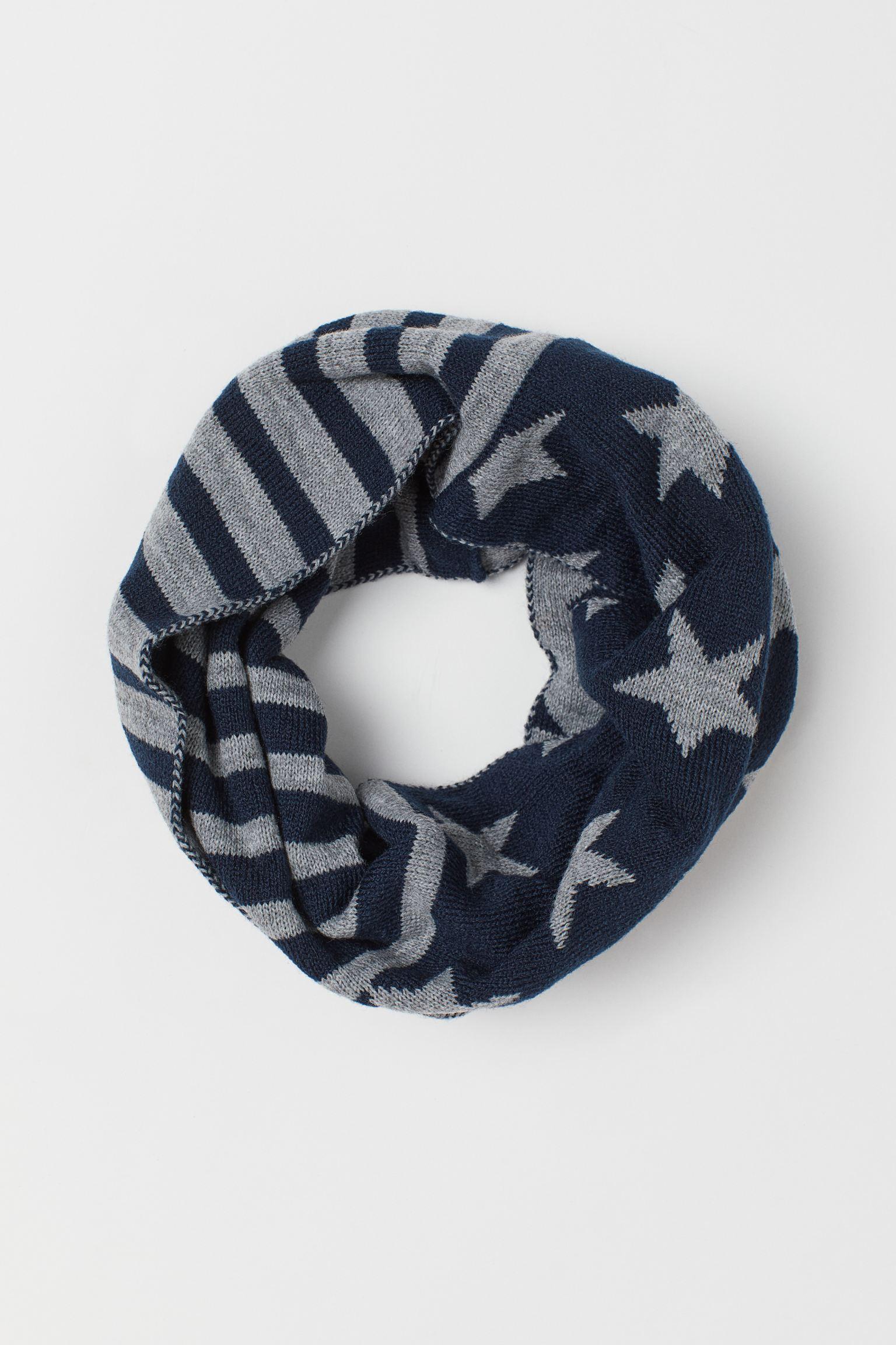 Отзыв на Вязаный шарф-хомут из Интернет-Магазина H&M