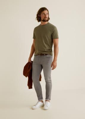 Отзыв на Серый узкие джинсы Джуд из Интернет-Магазина MANGO Outlet