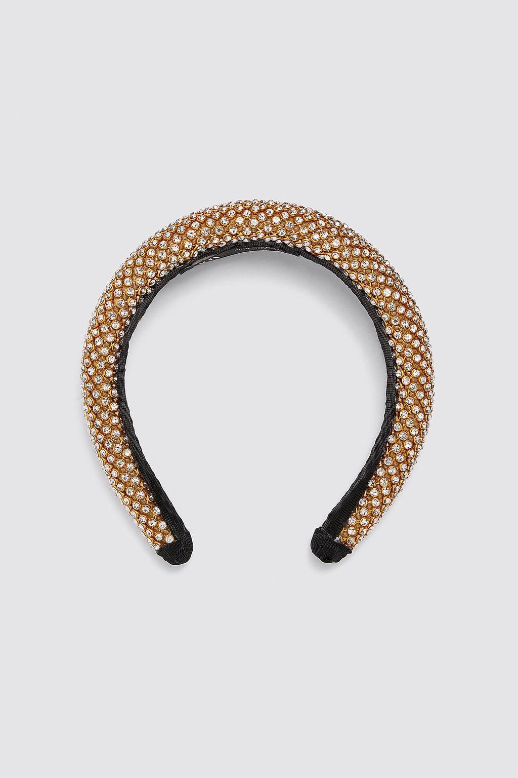 Отзыв на PADDED RHINESTONE HEADBAND из Интернет-Магазина Zara