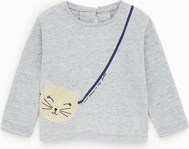 Отзыв на Рубашка с БЛЕСК-КОТЕНОК из Интернет-Магазина Zara