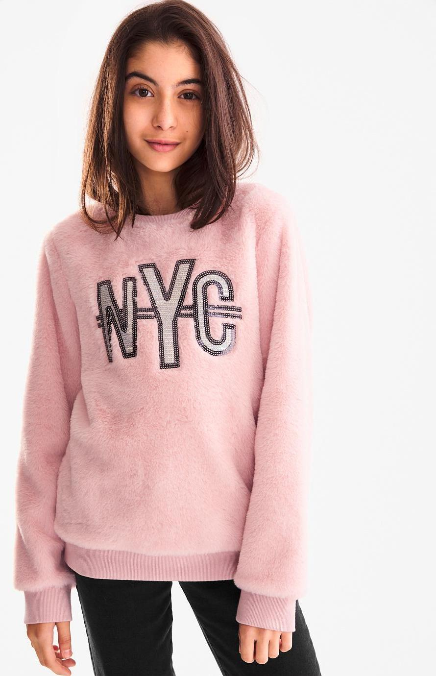 Отзыв на Fleece-Sweatshirt - Glanz Effekt из Интернет-Магазина C&A