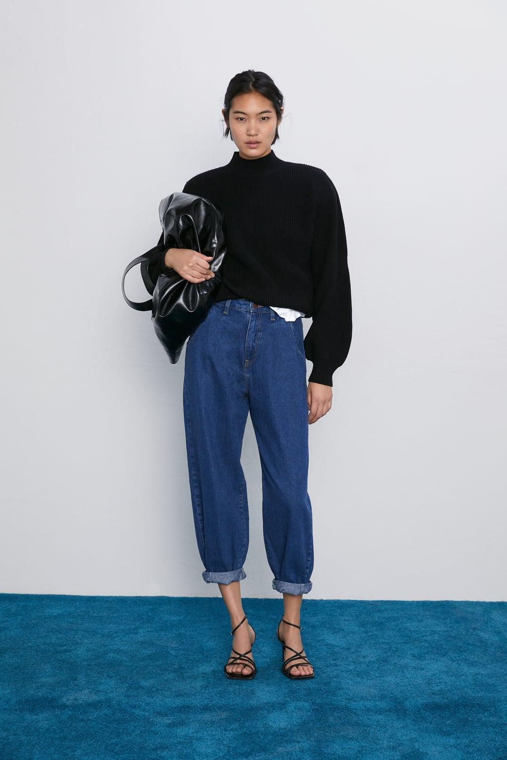 Отзыв на Джинсы Z1975 Аутентичные Напуском из Интернет-Магазина Zara